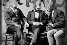 People With Animal Heads / Call me weird.. no eccentric, but I really dig People With Animal Heads / by Yaz Quiles