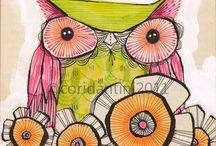 Owls / by Ylme Rappard