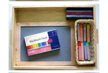 We can create playful learning boxes that can be easily accessed