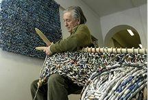 Fiber arts - knitting/spinning