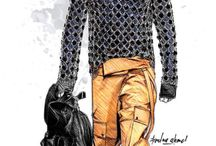 fashion illustration men's