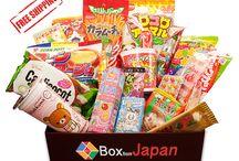 Box Candies  /Golosinas! / $33 / Month Japanese candies subscription Box. $33 / Mes Club de suscripción de Golosinas japonesas.