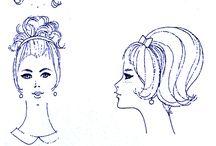 1960 Gaya Rambut / Gaya Rambut di era 60 an