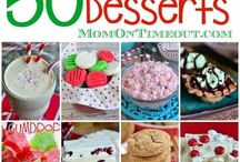 Christmas dessert selections