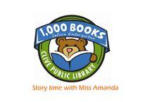 Miss Amanda 1,000 Books Before Kindergarten