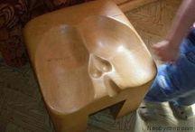 стулья из дерива