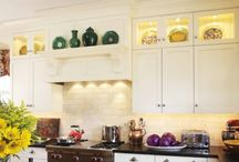 Glass Doors in Kitchen Cabinets