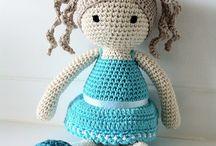 Haken: Ricepuddingbaby corchet doll