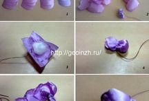 flores cintas elegantes