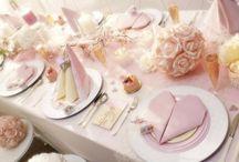 Un mariage rose poudré / Isambourg vous propose toujours plus d'idées pour faire de votre mariage un événement unique et magique !