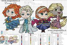 Princess sets of 4