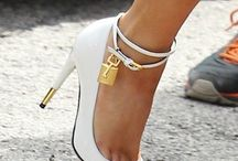 {White Hot Heels} / by JustPatience JustPatience