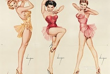 Pinups / Photos, images and Illistration's of pinup girls.  / by Cmajic Powers