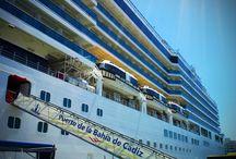 Visita Costa Luminosa en Cádiz - COSTA CRUCEROS & VIAJES TRIANA. /  Os mostramos algunas fotos de la visita que el sábado realizaron clientes de Triana Viajes a Cádiz para visitar el buque Costa Luminosa. Agradecimientos a Costa Cruceros por su invitación.