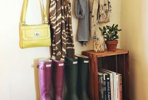 entryway::mudroom::laundry / by Hannah