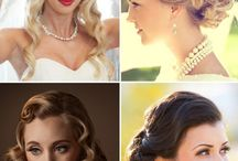 "Gorgeous Vintage Hairstyles! / ""What's old becomes new"" We are soooo happy that Vintage Hairstyles are totally hot now! Nous sommes tellement heureuses que la tendance Coiffure Vintage soit de retour!! Wout Wout Wout!"