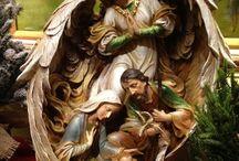 Navidad: Jesús, el Niño Dios y la Sagrada Familia.