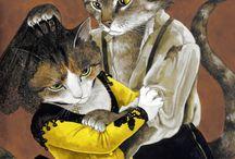 láminas de gatos 2