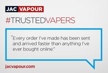 #TrustedVapers / Discover why JAC Vapour are the leading e-cigarette brand for quality, performance and reliability, which testimonials from our customers.
