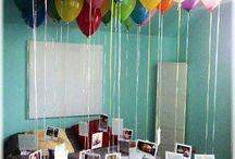 Celebration ideas