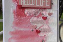 Grußkarten: Liebe