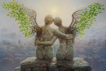 Art works (surrealism, fantasy art, Gothic, steampunk, etc...) / Imaginary Art