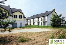 Domy jednorodzinne szeregowe - Osiedle Dębinka / Domy jednorodzinne szeregowe - Osiedle Dębinka - domy - home - house