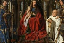 Flemish Primitives / Flemisch Primitives refers to a group of painters active during the 15th- and 16th century especially in the flourishing cities of Bruges, Ghent and Tournai. The major painters of these 'Flemisch Primitives' are: van Eyck, Rogier van der Weyden, HAns Memling, Hugo van der Goes en Hieronymus Bosch.