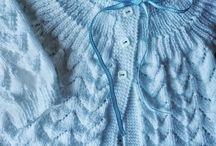 Casaquinho azul menino