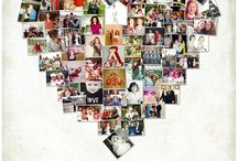 Birthday Gift Ideas / Birthday gift, birthday photo album, Heart Collage, Birthday decorations.