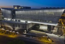 Maricopa County Sheriff's Headquarters / Maricopa County Sheriff's Headquarters and 911 Emergency Center is tracking LEED Gold. This facilities incorporates 30,000 square feet of perforated #VMZINC Composite paneling that acts as a sunshade that reduces the amount of energy required to cool the building.