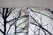 pillows & bedspreads