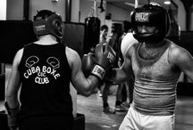 After sparring a great friendship between winner and defeated begins@