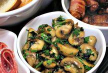 food: mushrooms * Pilze/ Champignons