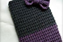 crochet pipe bags and little bags / by sierra braud
