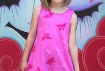 Our girls styles / Organic clothing for girls 12 months through size 8, joyfully made in the USA