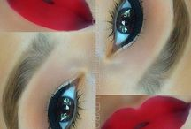 Make up completed looks