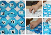 Alphabet Activities for kids / Alphabet sand theme