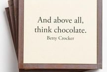 Chocolate / Recipes for delicious somethings chocolate, fudge, cacao, cocoa.