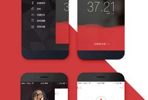 A  P  P    D  E  S  I  G  N / Application and mobile design / by Daniela Jimenez-Siccardi
