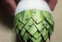 Pine cone decoration