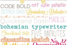 Fonts / by Valerie Salmon