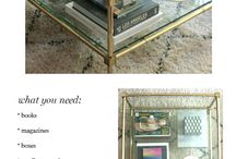 Coffee table ideas.