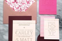 Wedding invitations &Save the date ideas