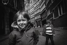 Street Children Photos / Children in the city. Action.