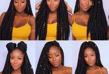 Tranças de mulheres negras