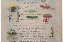 Cool Culinaria - Love Menu Art / Cool Culinaria produces archival prints, tea-towels, note-cards and more from vintage menus and restaurant signage.