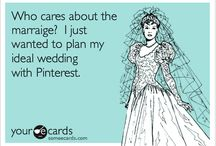 Pretend-Wedding Plans! / A non-existent wedding planning board.  / by Niki Aleesha