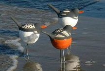 Birds (clay, ceramic, ...)