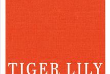 Tiger Lily Bag Challenge / Bag ideas.  Using Tiger Lily, Kona's 2018 COTY, make a bag.